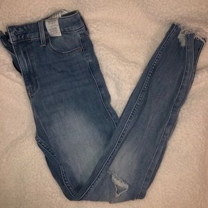 High Rise Hollister Skinny Jeans